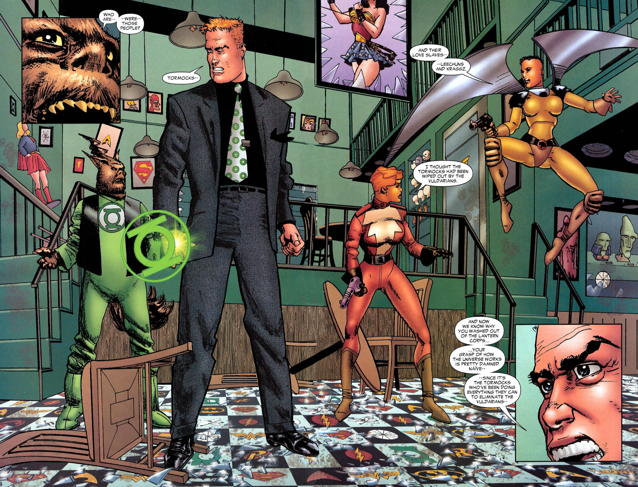 Read online Guy Gardner: Collateral Damage comic -  Issue #2 - 4