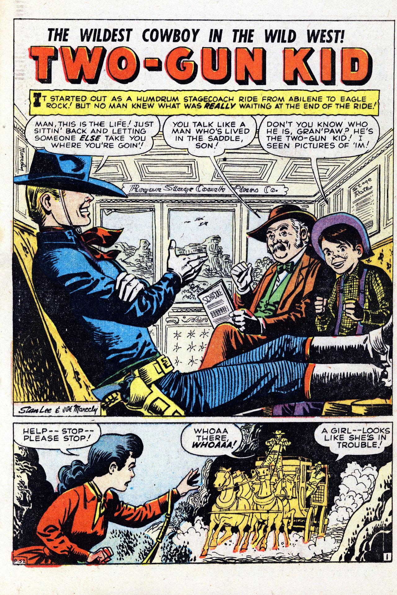 Read online Two-Gun Kid comic -  Issue #41 - 12