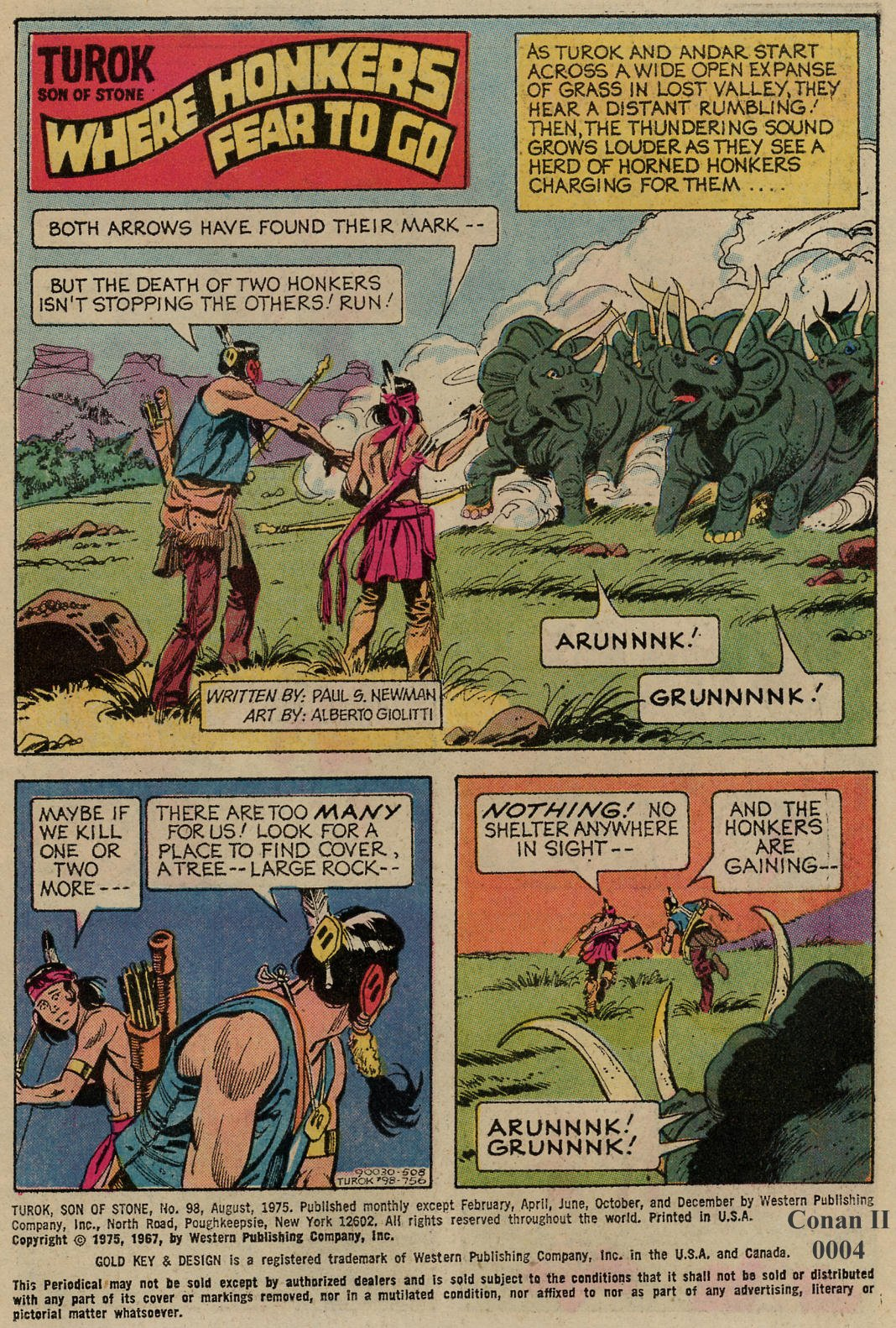 Read online Turok, Son of Stone comic -  Issue #98 - 2