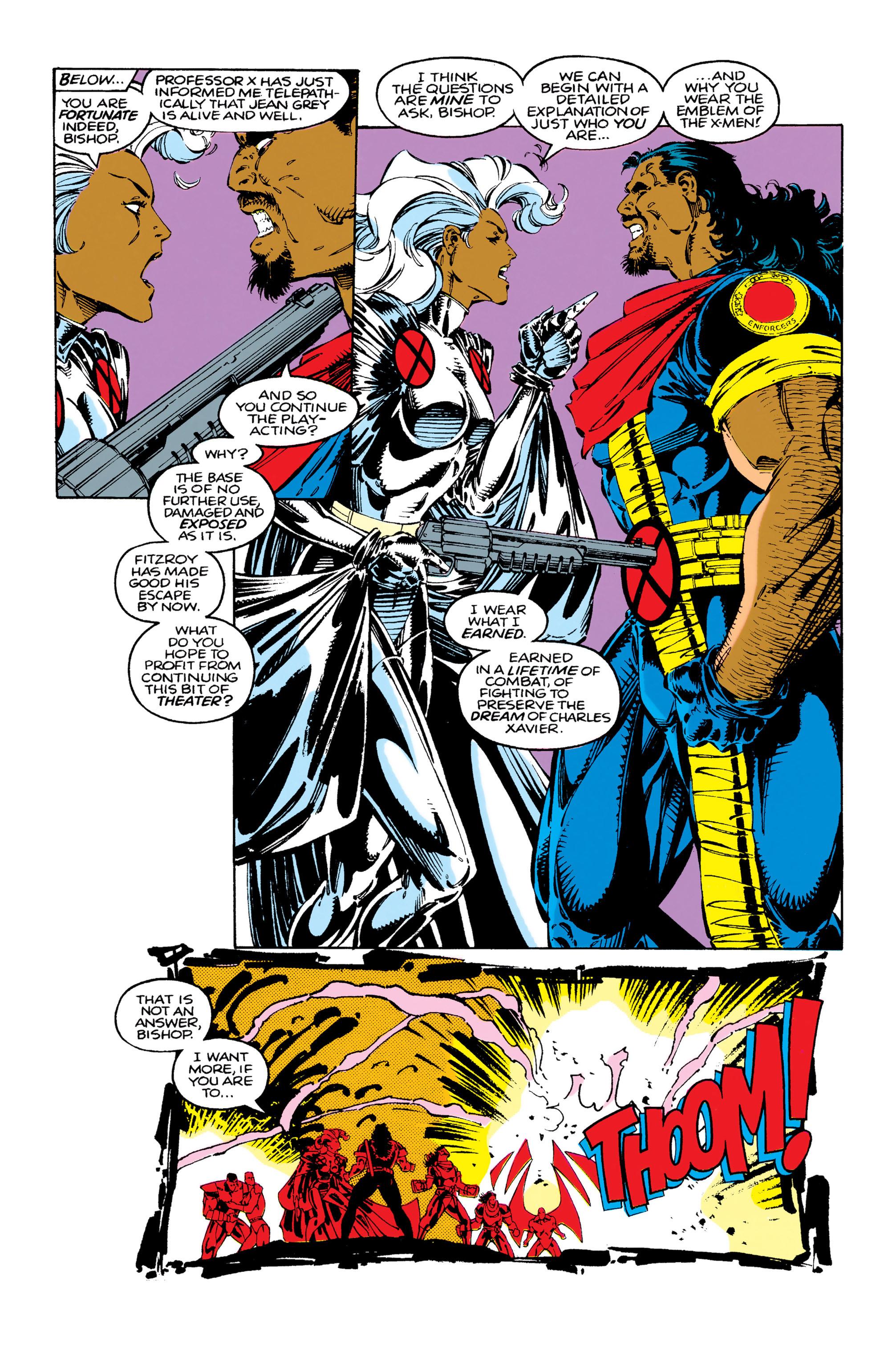 Read online Uncanny X-Men (1963) comic -  Issue #283 - 18