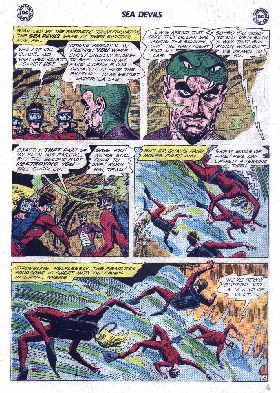 Read online Sea Devils comic -  Issue #21 - 15