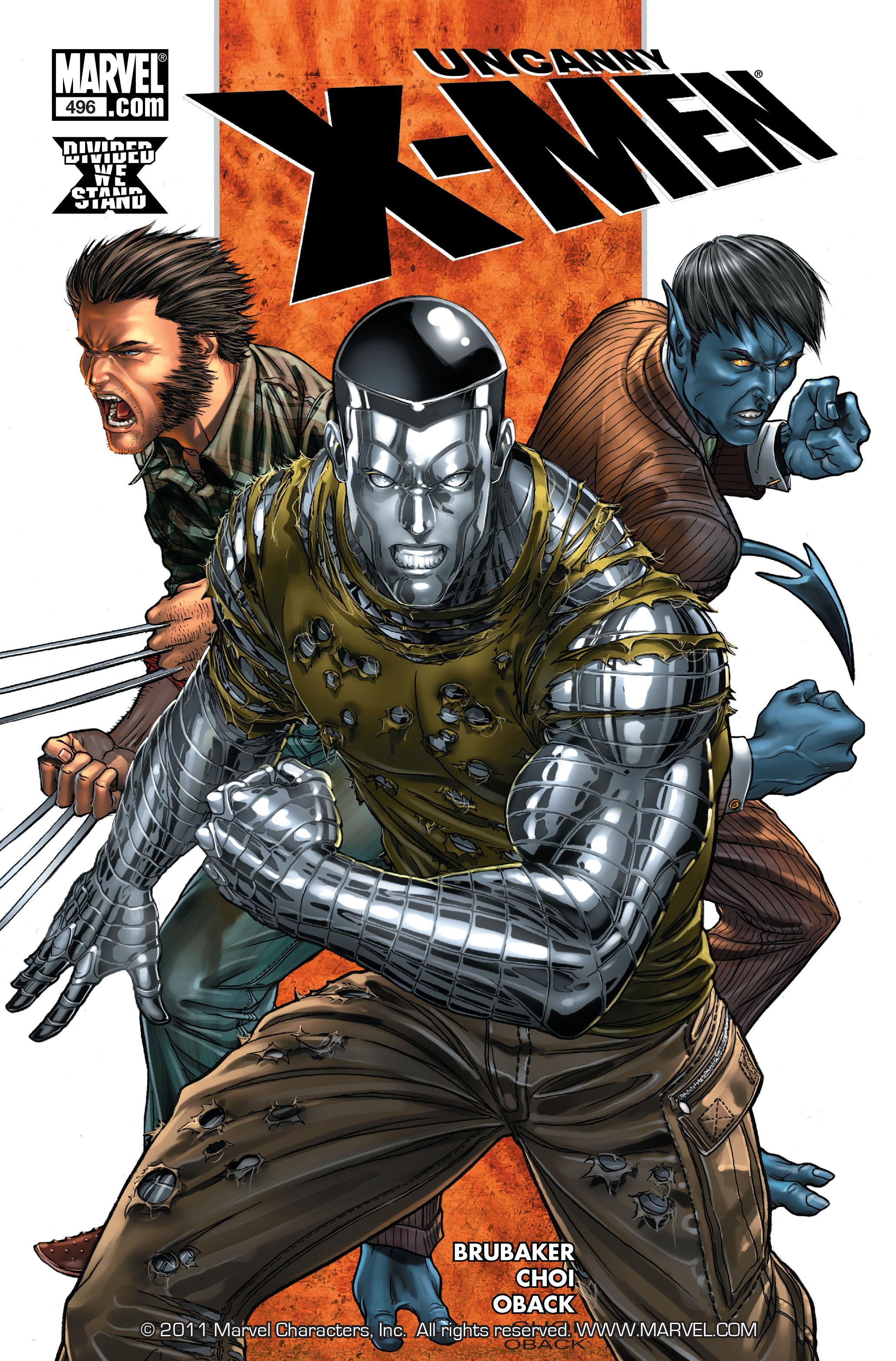 Uncanny X-Men (1963) 496 Page 1