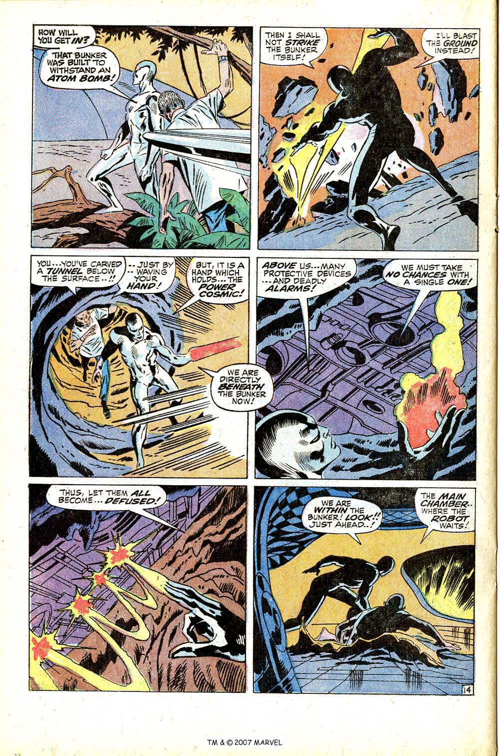 Read online Silver Surfer (1968) comic -  Issue #13 - 20
