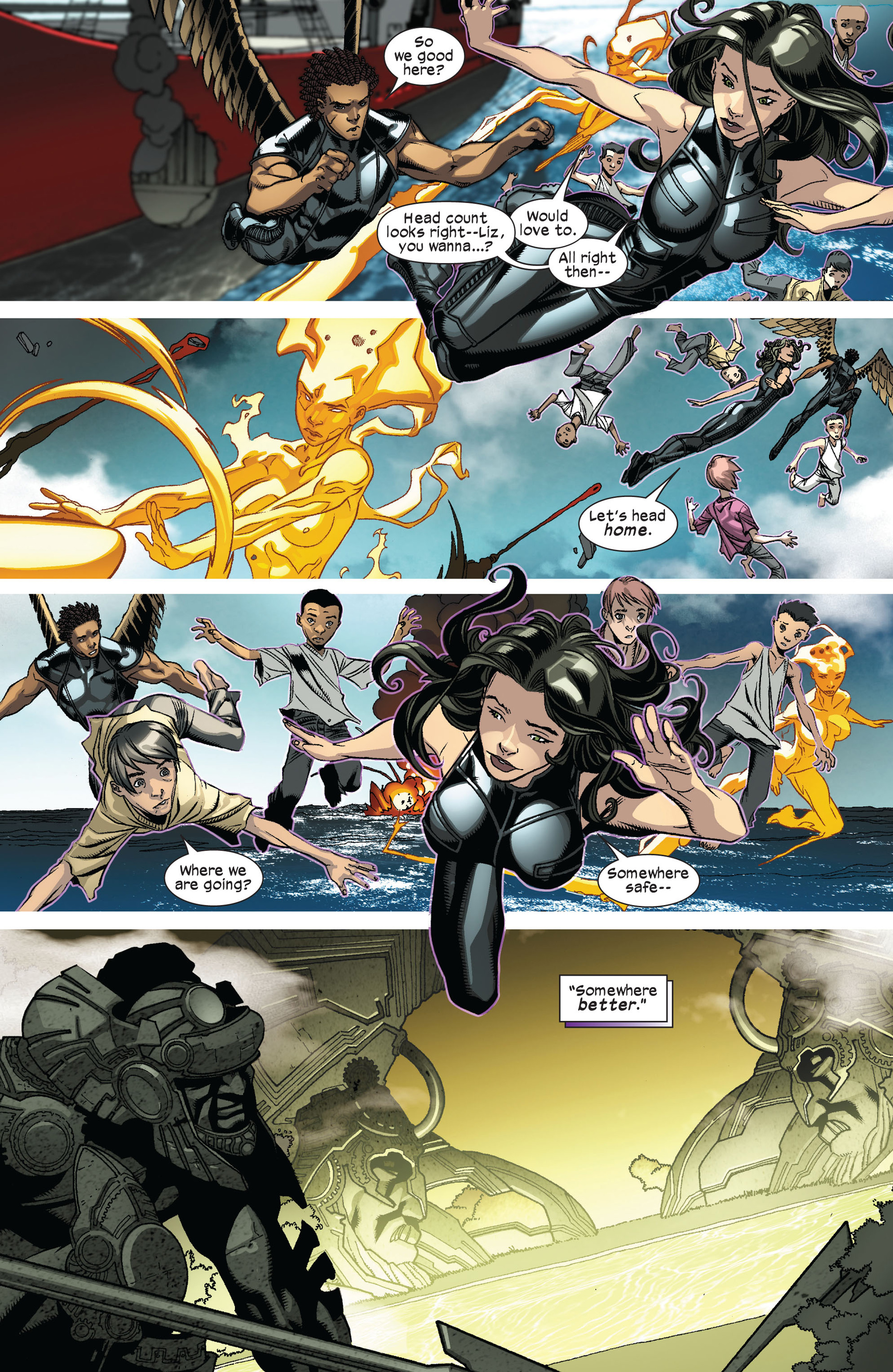 Read online Ultimate Comics X-Men comic -  Issue #8 - 13