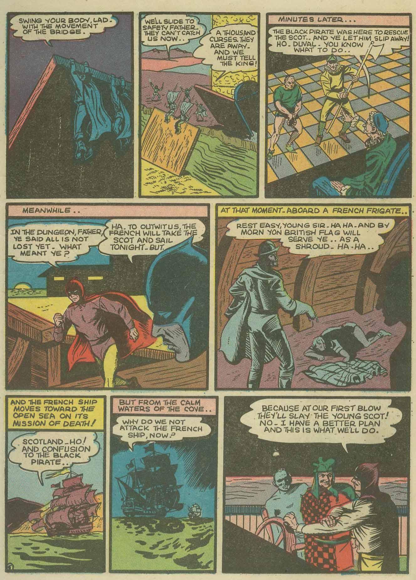 Read online Sensation (Mystery) Comics comic -  Issue #9 - 21