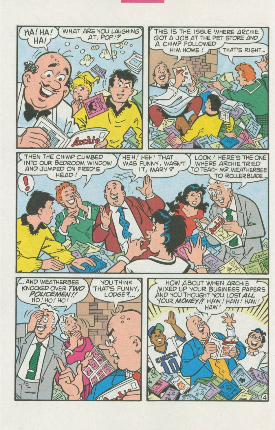 Read online Archie (1960) comic -  Issue #500 - 5