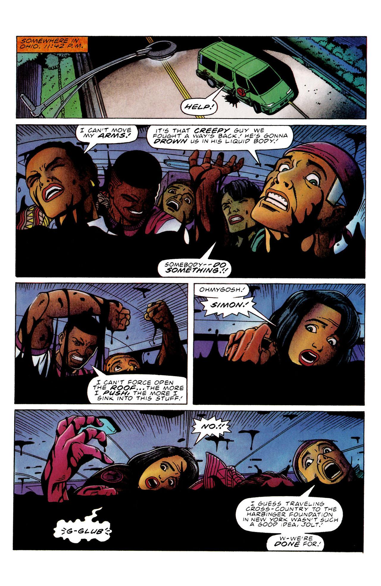 Read online Harbinger (1992) comic -  Issue #34 - 5
