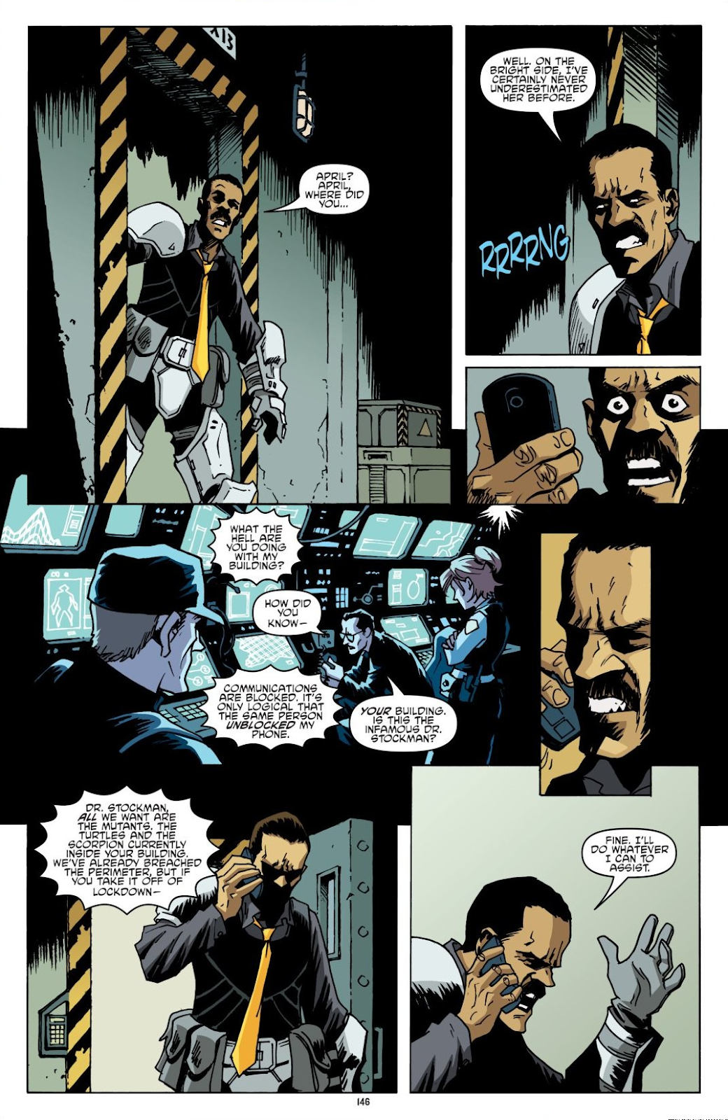 Read online Teenage Mutant Ninja Turtles: The IDW Collection comic -  Issue # TPB 8 (Part 2) - 45