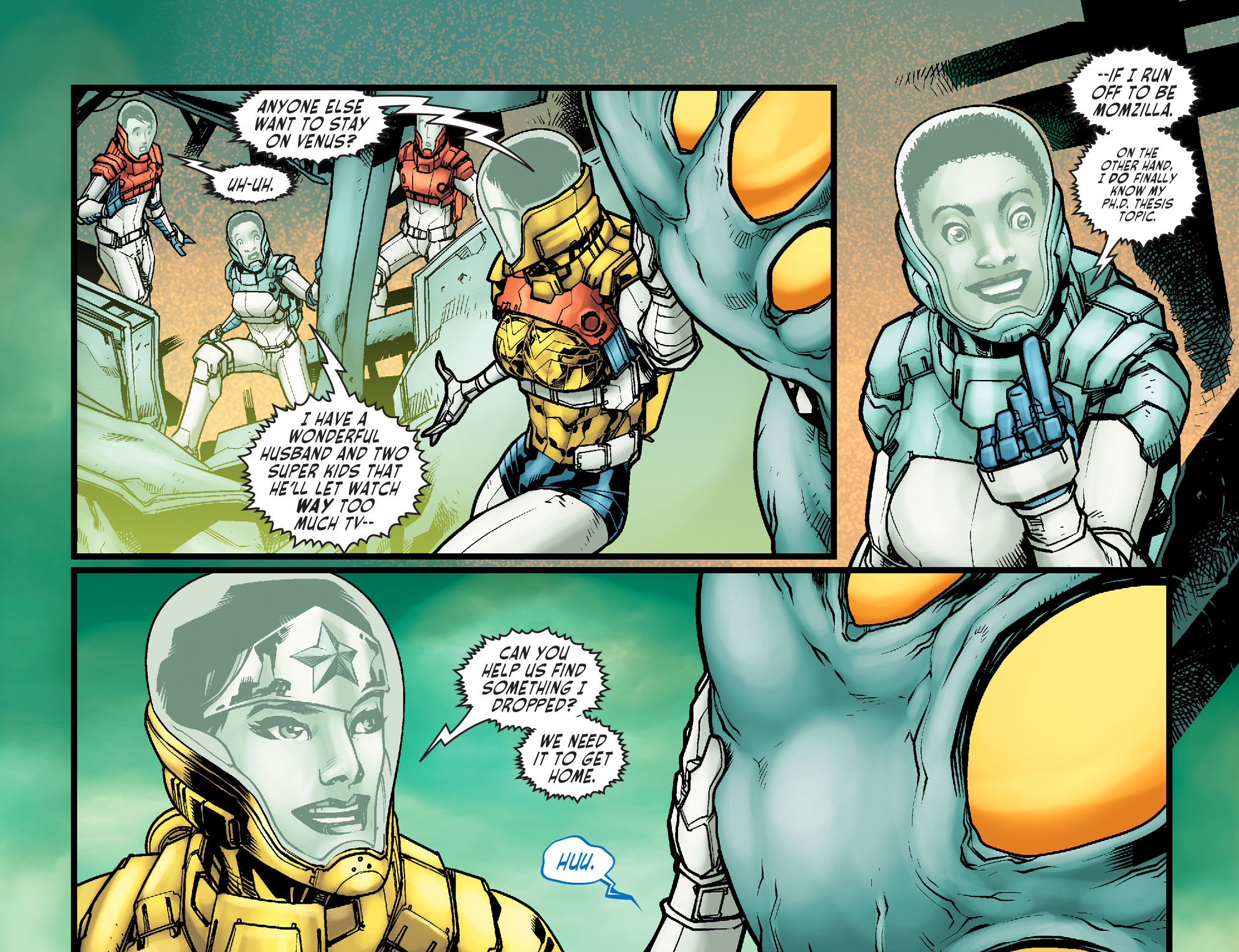 Read online Sensation Comics Featuring Wonder Woman comic -  Issue #21 - 21