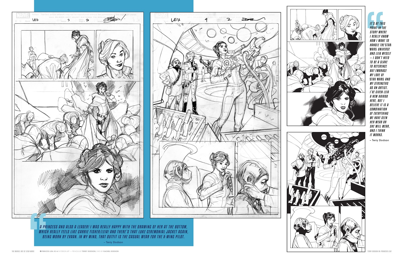 Read online The Marvel Art of Star Wars comic -  Issue # TPB (Part 2) - 33