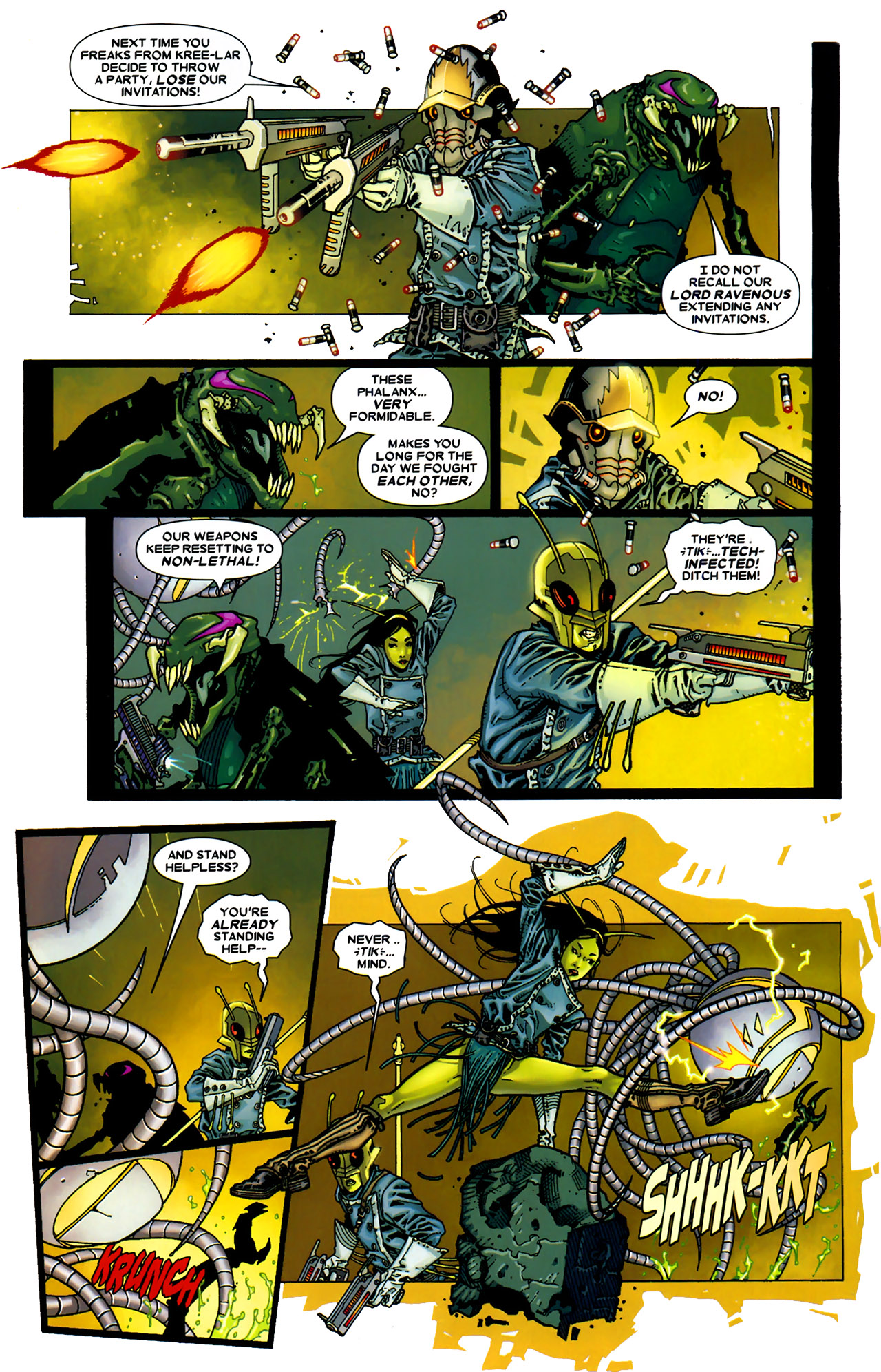 Read online Annihilation: Conquest - Starlord comic -  Issue #2 - 18