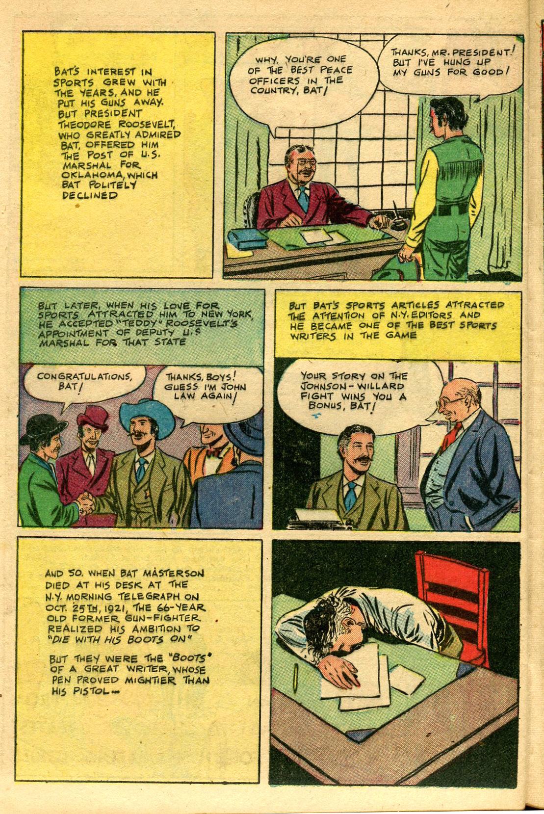 Read online Shadow Comics comic -  Issue #69 - 40