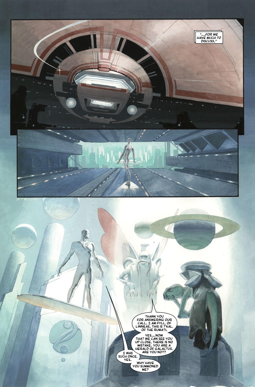 Read online Silver Surfer: Requiem comic -  Issue #3 - 12