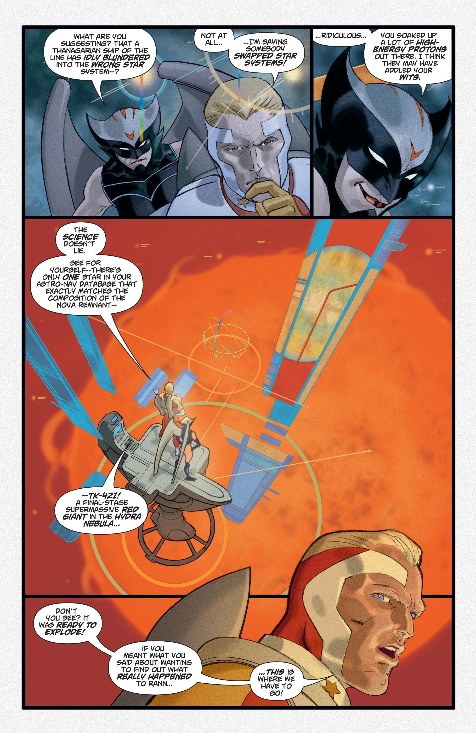 Read online Adam Strange (2004) comic -  Issue #3 - 11