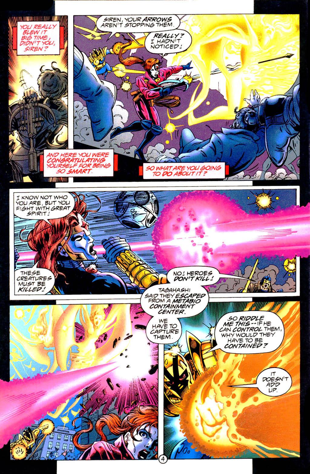 Read online UltraForce (1994) comic -  Issue #9 - 5