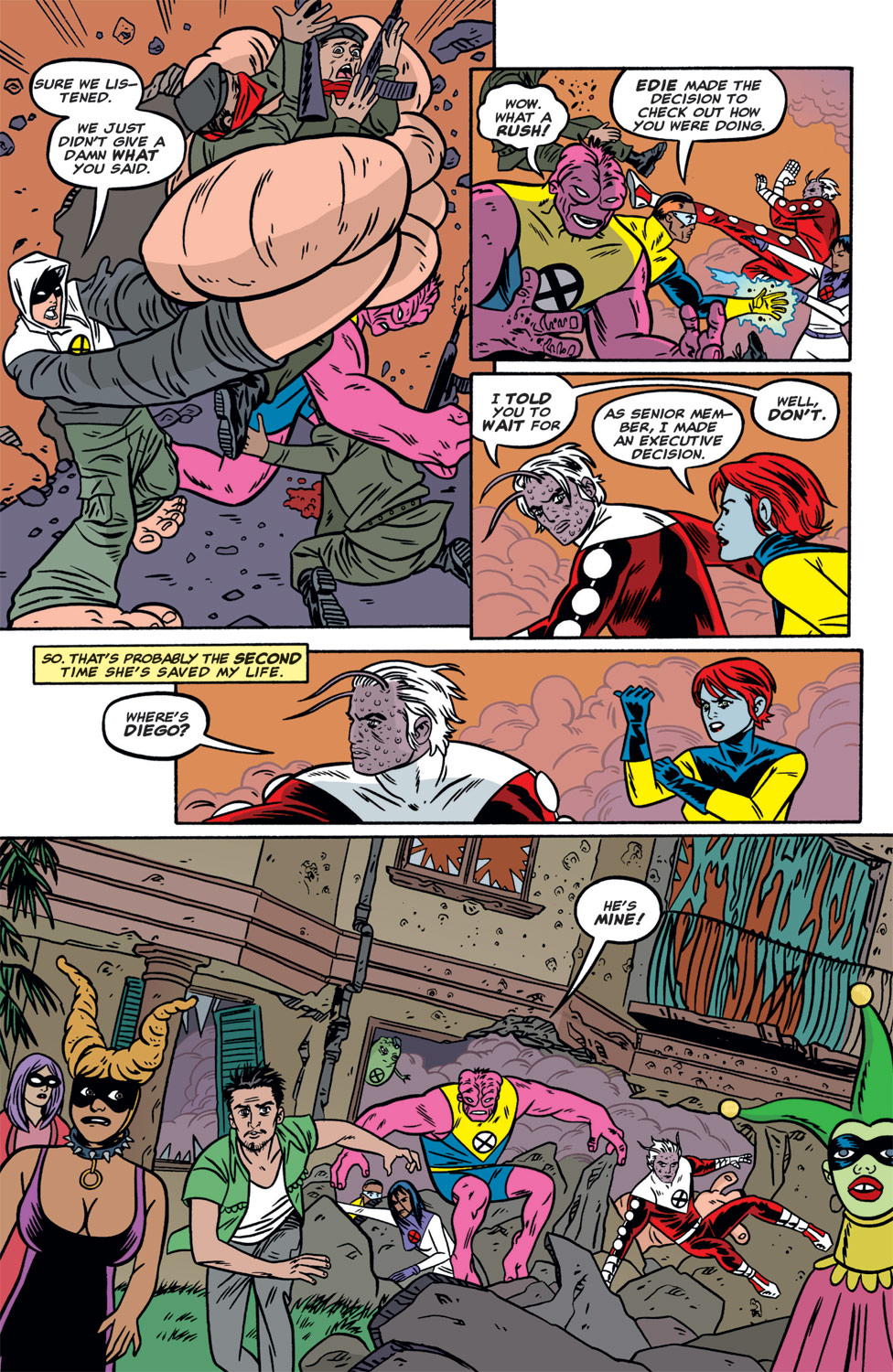 Read online X-Force (1991) comic -  Issue #118 - 14