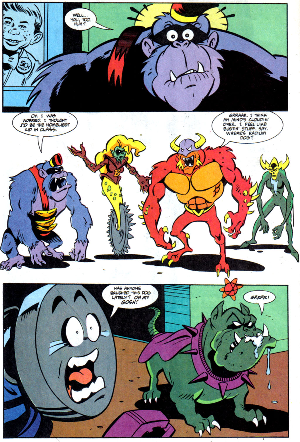 Read online Defenders of Dynatron City comic -  Issue #6 - 6
