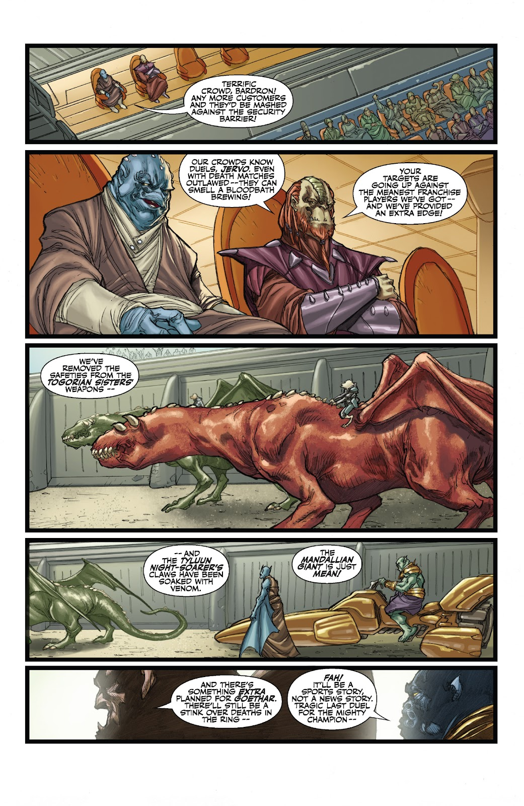 Read online Star Wars Legends: The Old Republic - Epic Collection comic -  Issue # TPB 3 (Part 1) - 80