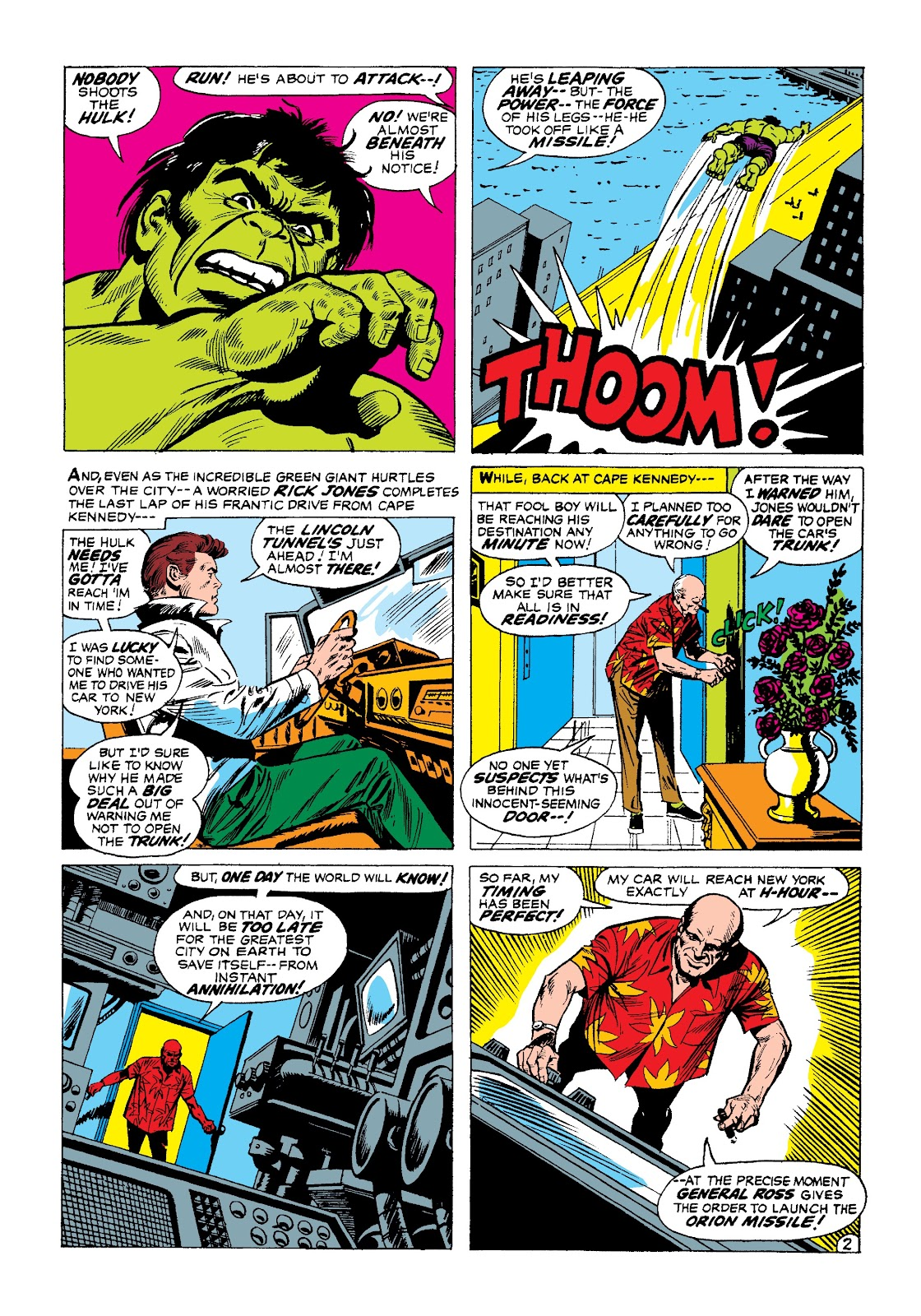Read online Marvel Masterworks: The Incredible Hulk comic -  Issue # TPB 3 (Part 1) - 64