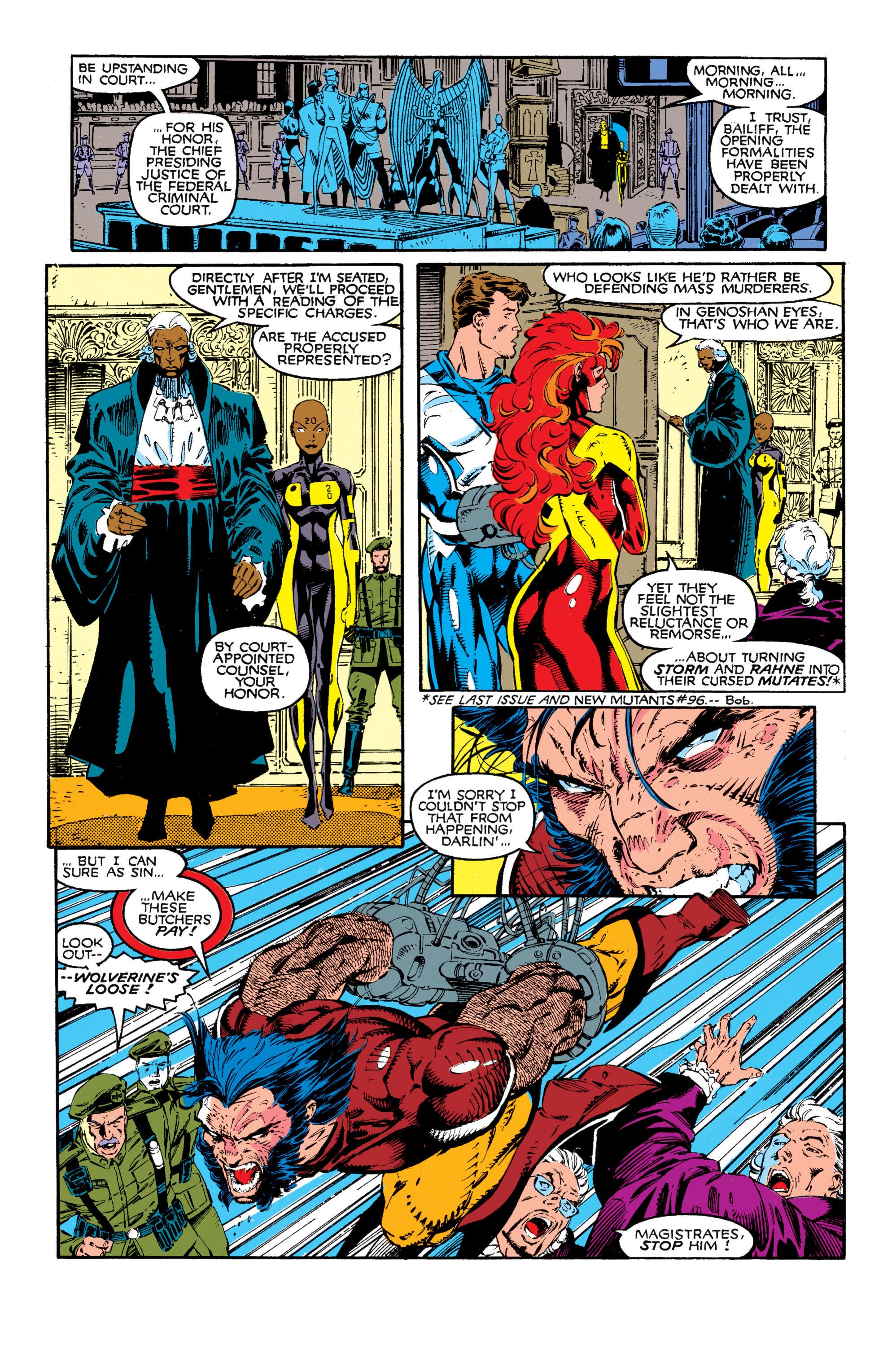 Read online Uncanny X-Men (1963) comic -  Issue #272 - 4