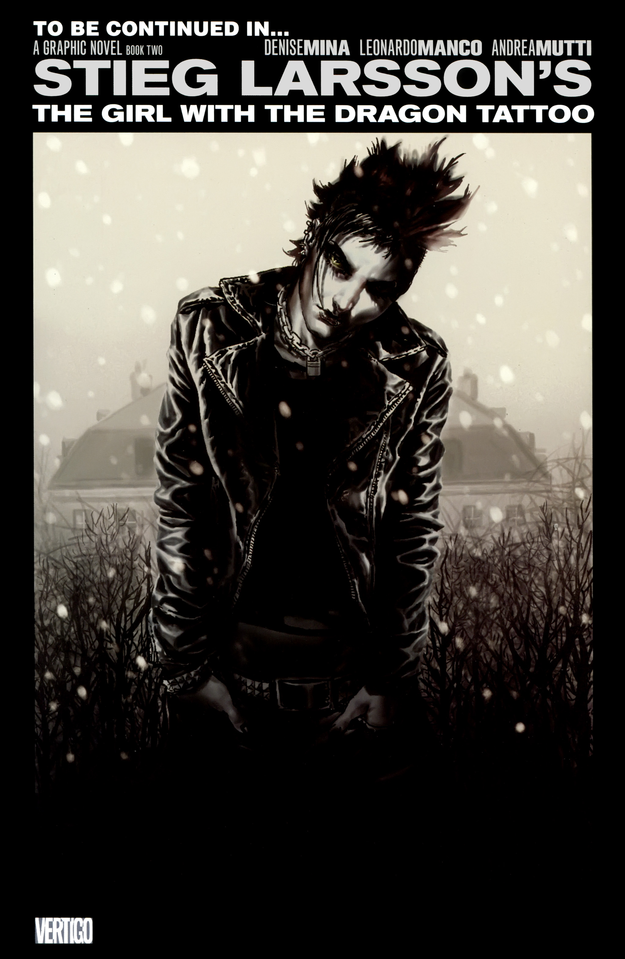 Read online The Girl With the Dragon Tattoo comic -  Issue # TPB 1 - 152