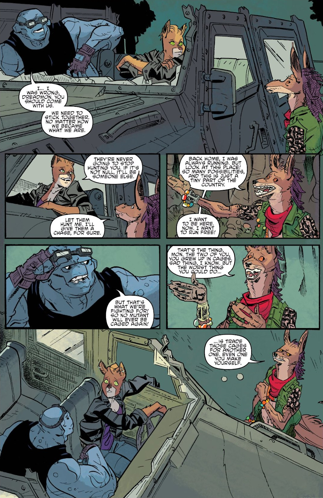 Read online Teenage Mutant Ninja Turtles: The IDW Collection comic -  Issue # TPB 9 (Part 3) - 44