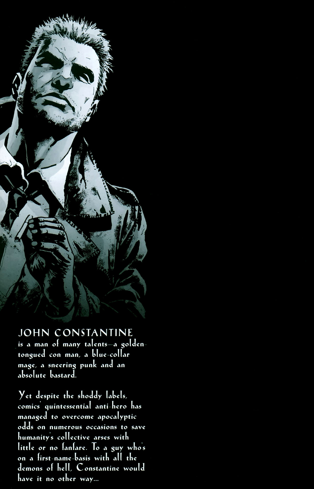 Read online John Constantine Hellblazer: All His Engines comic -  Issue # Full - 2