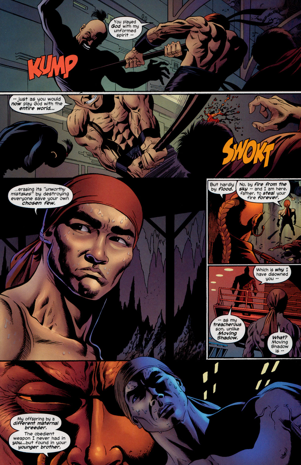 Read online Shang-Chi: Master of Kung Fu comic -  Issue #5 - 19