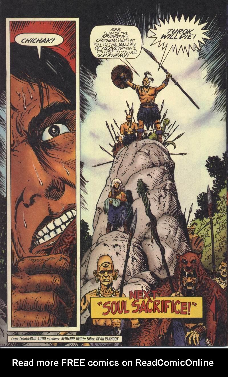 Read online Turok, Dinosaur Hunter (1993) comic -  Issue #7 - 22