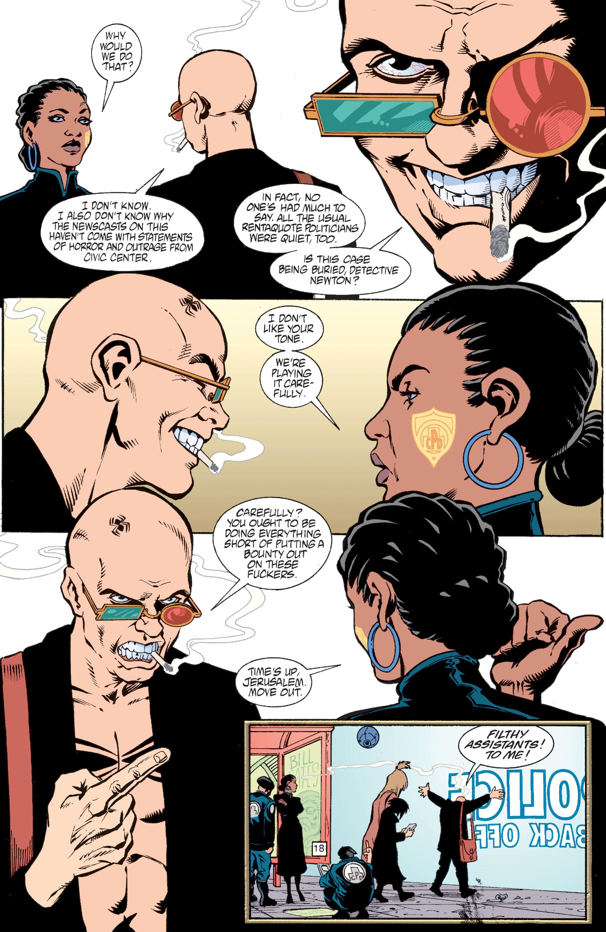 Read online Transmetropolitan comic -  Issue #28 - 19
