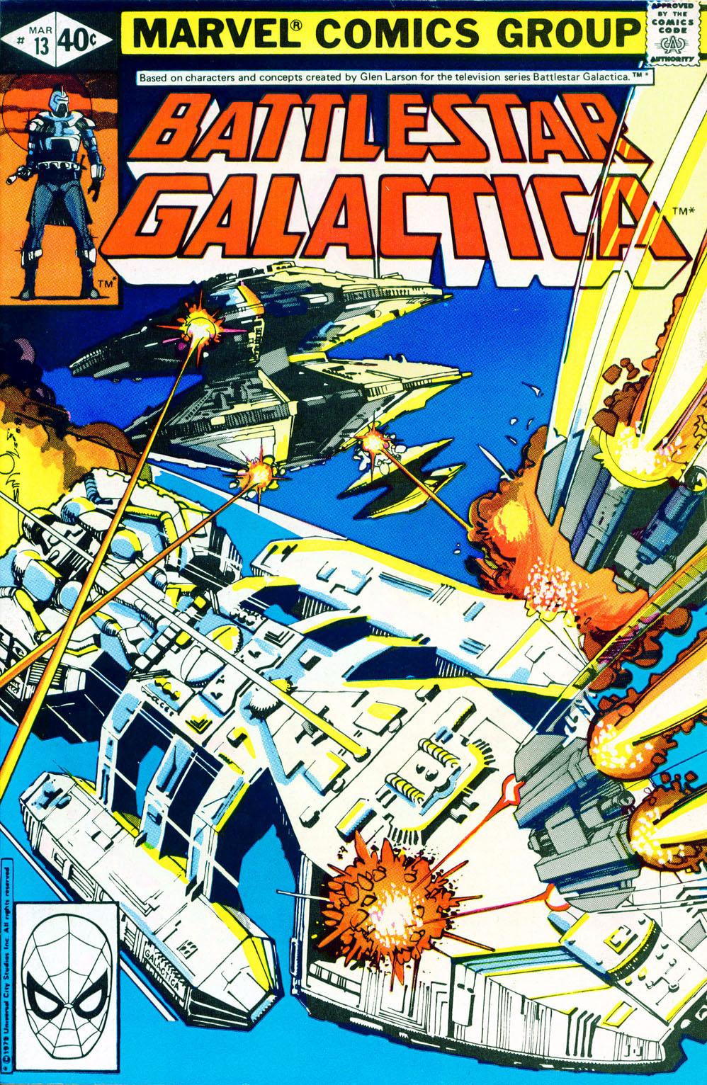 Battlestar Galactica 13 Page 1