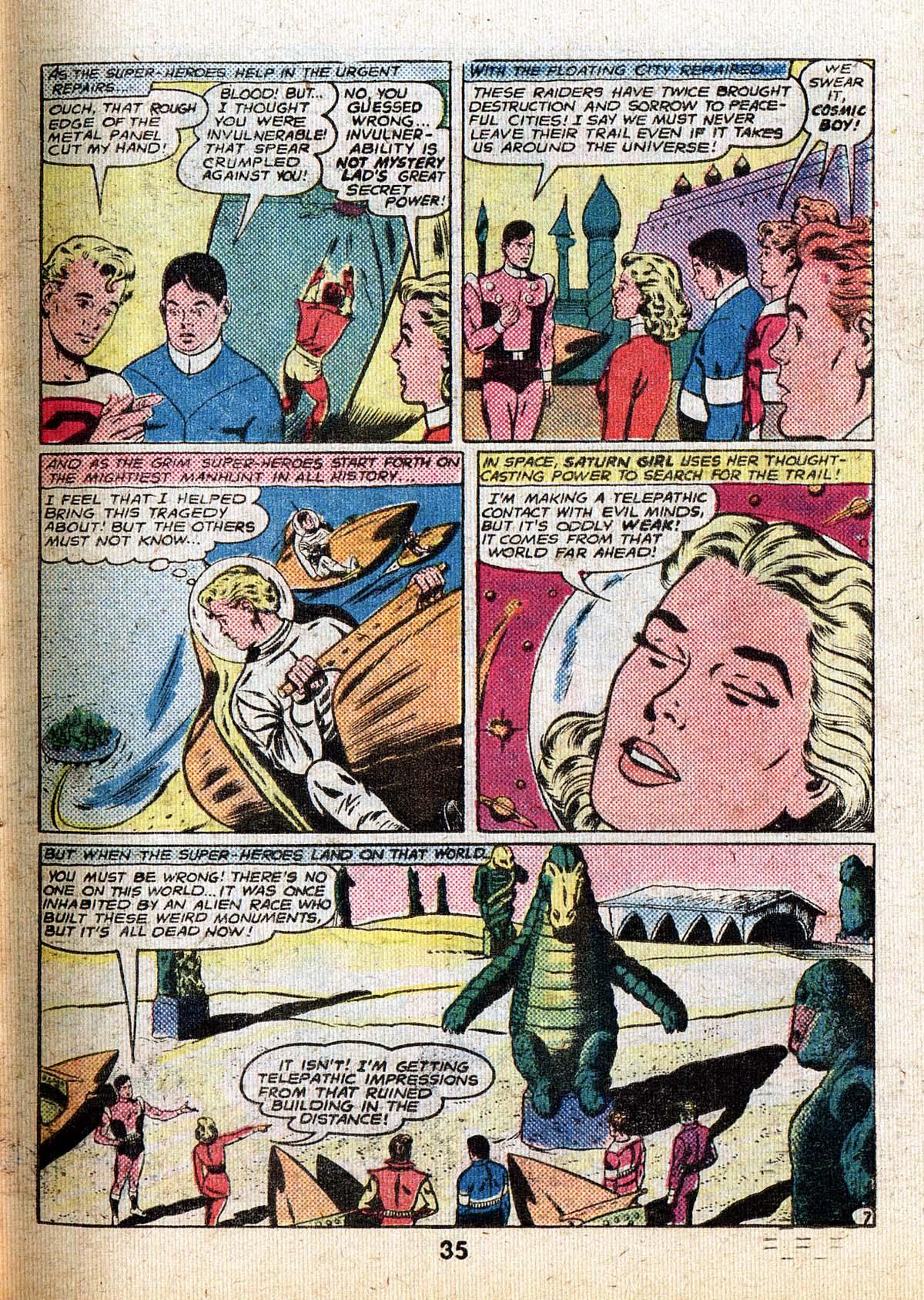Read online Adventure Comics (1938) comic -  Issue #500 - 35