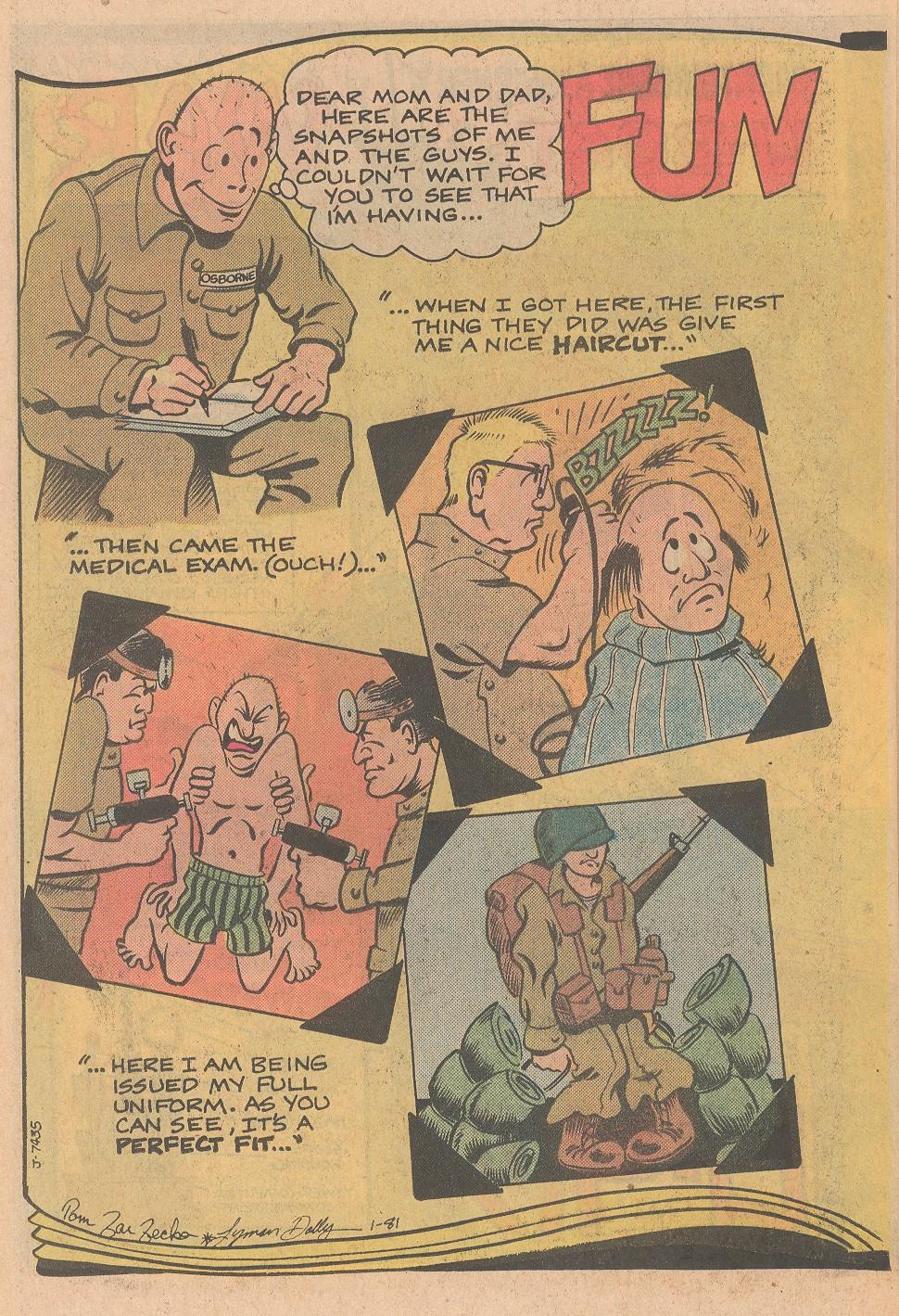 Read online Sgt. Rock comic -  Issue #357 - 22