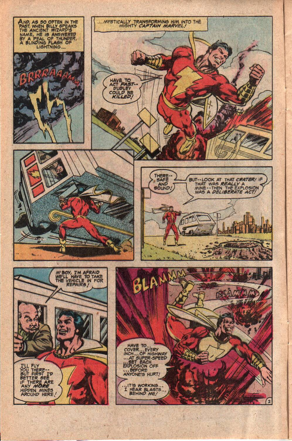 Read online Shazam! (1973) comic -  Issue #34 - 4