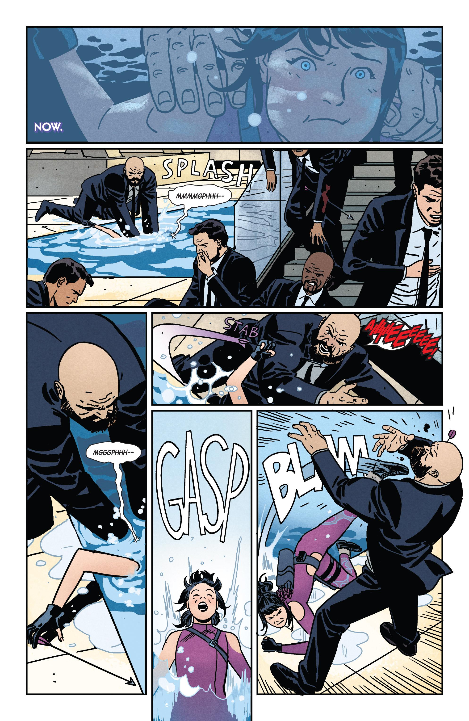 Read online Hawkeye (2016) comic -  Issue #7 - 19