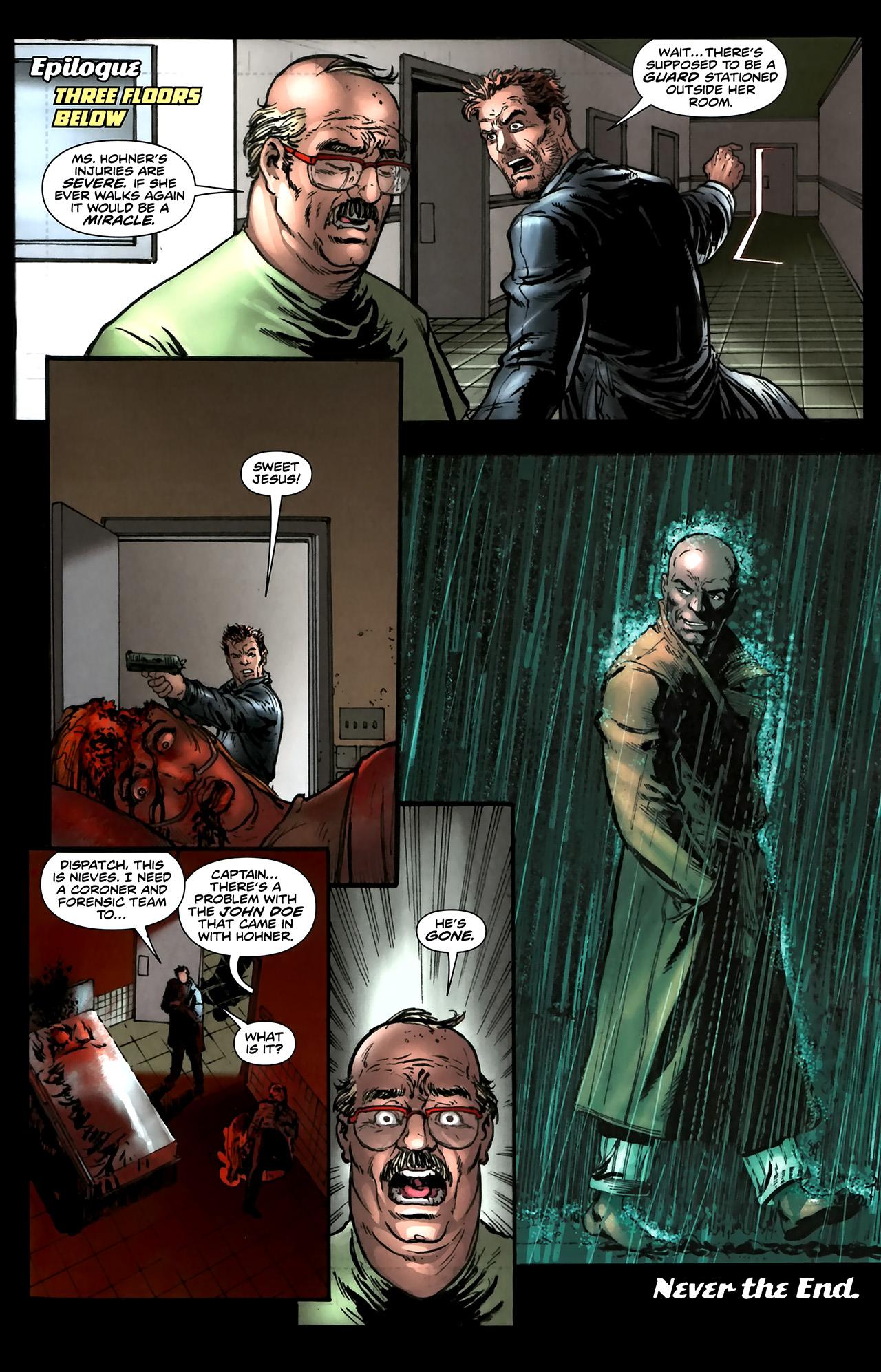 Read online ShadowHawk (2010) comic -  Issue #5 - 24