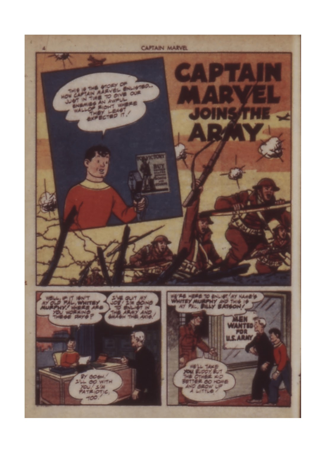 Captain Marvel Adventures issue 12 - Page 4
