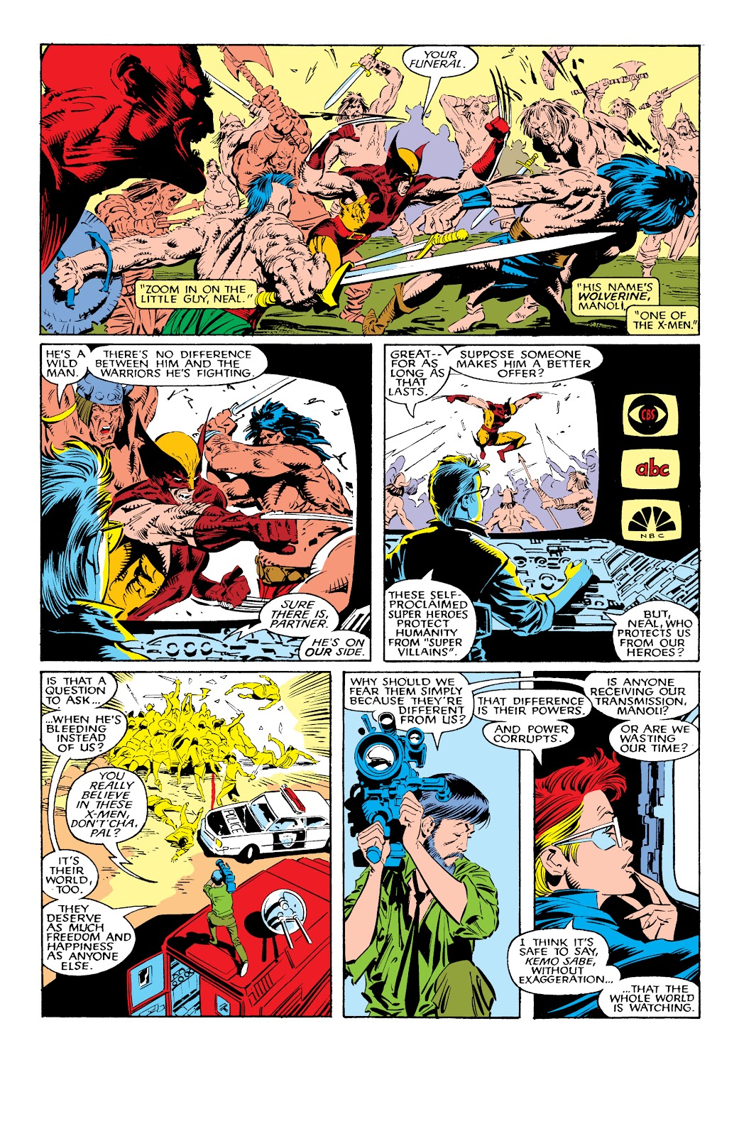 Read online X-Men Milestones: Fall of the Mutants comic -  Issue # TPB (Part 1) - 43