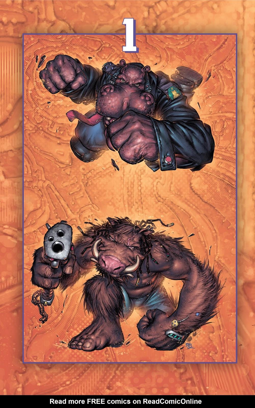 Read online Elephantmen 2261 Season Two: The Pentalion Job comic -  Issue # TPB - 7