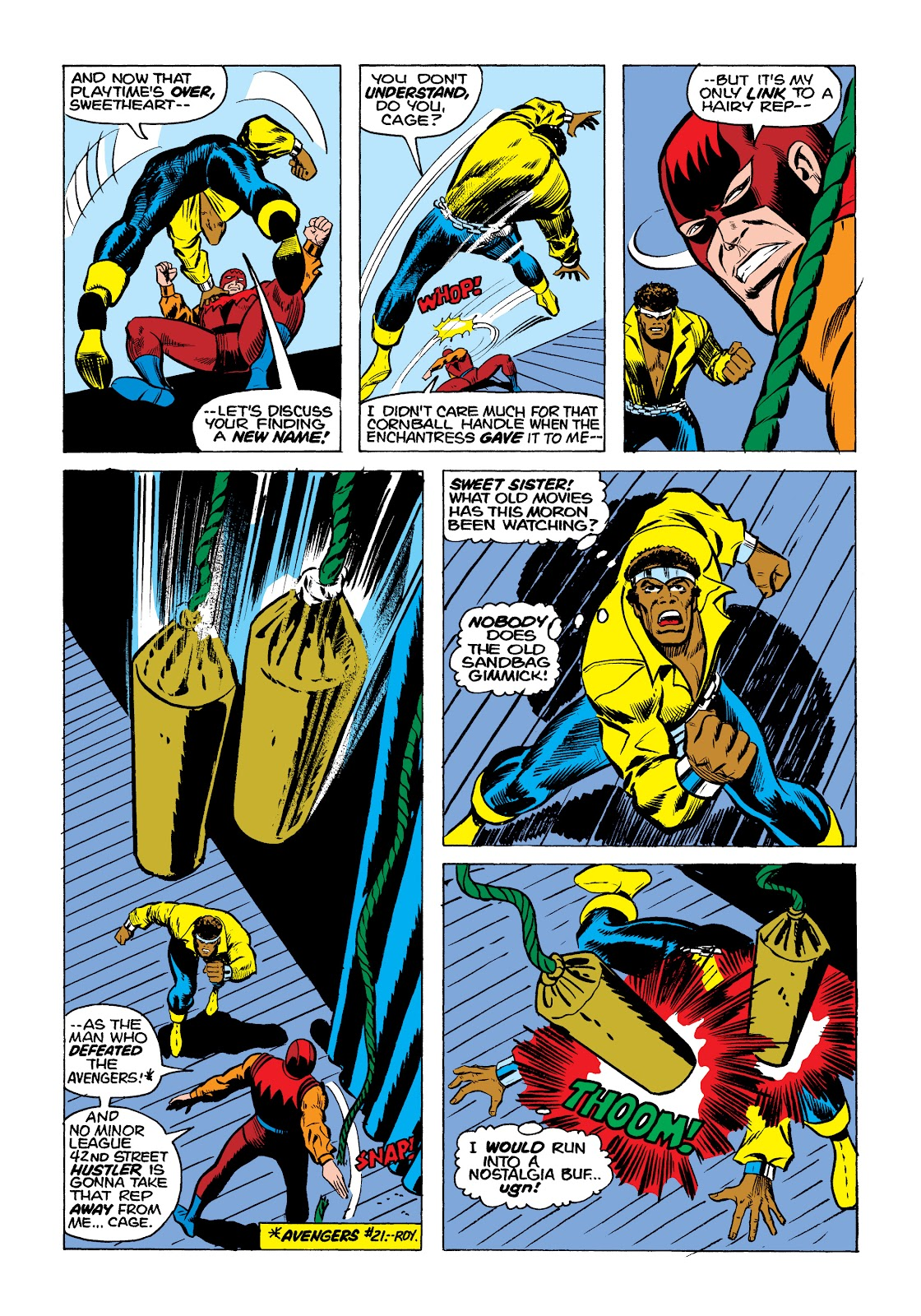 Read online Marvel Masterworks: Luke Cage, Power Man comic -  Issue # TPB 2 (Part 1) - 96