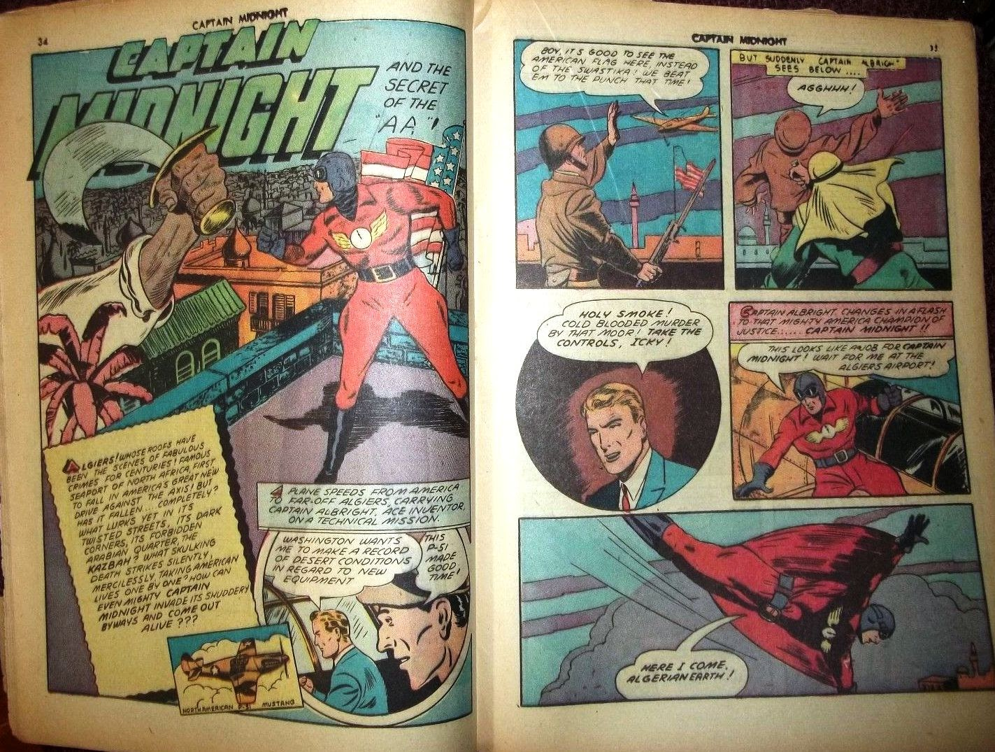 Captain Midnight (1942) issue 6 - Page 27
