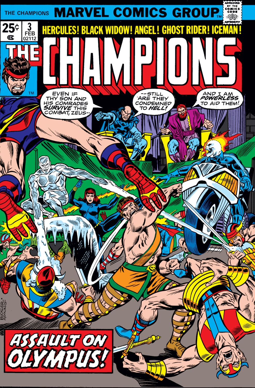The Champions issue 3 - Page 1