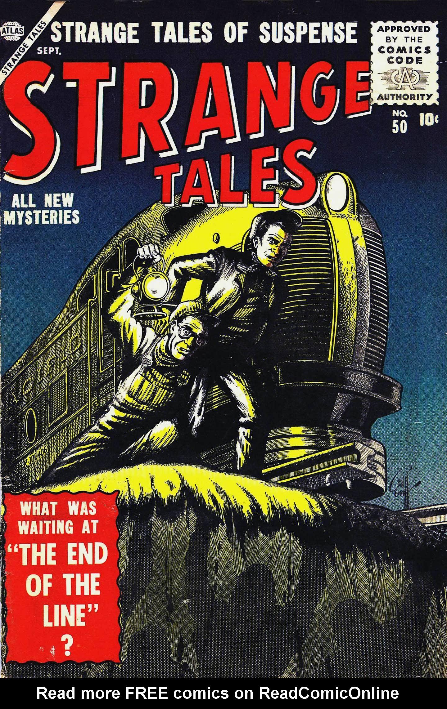 Strange Tales (1951) 50 Page 1