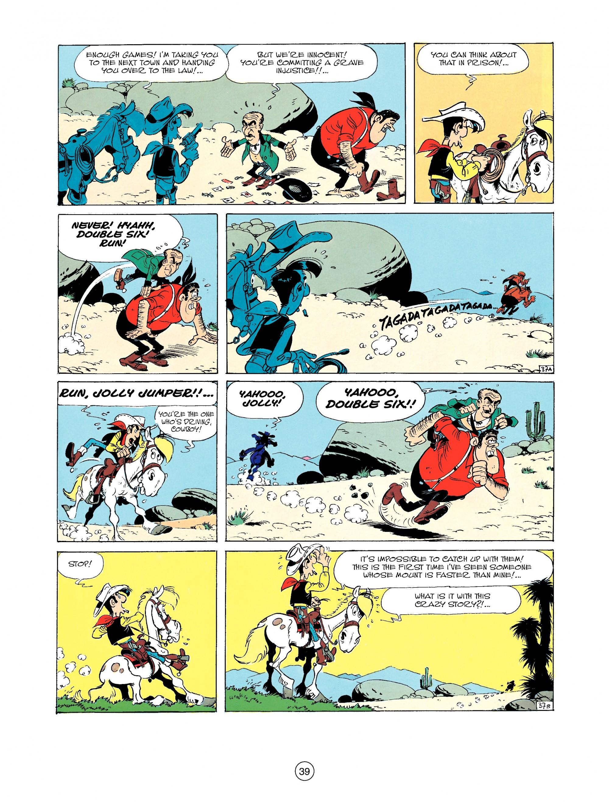 Read online A Lucky Luke Adventure comic -  Issue #33 - 39