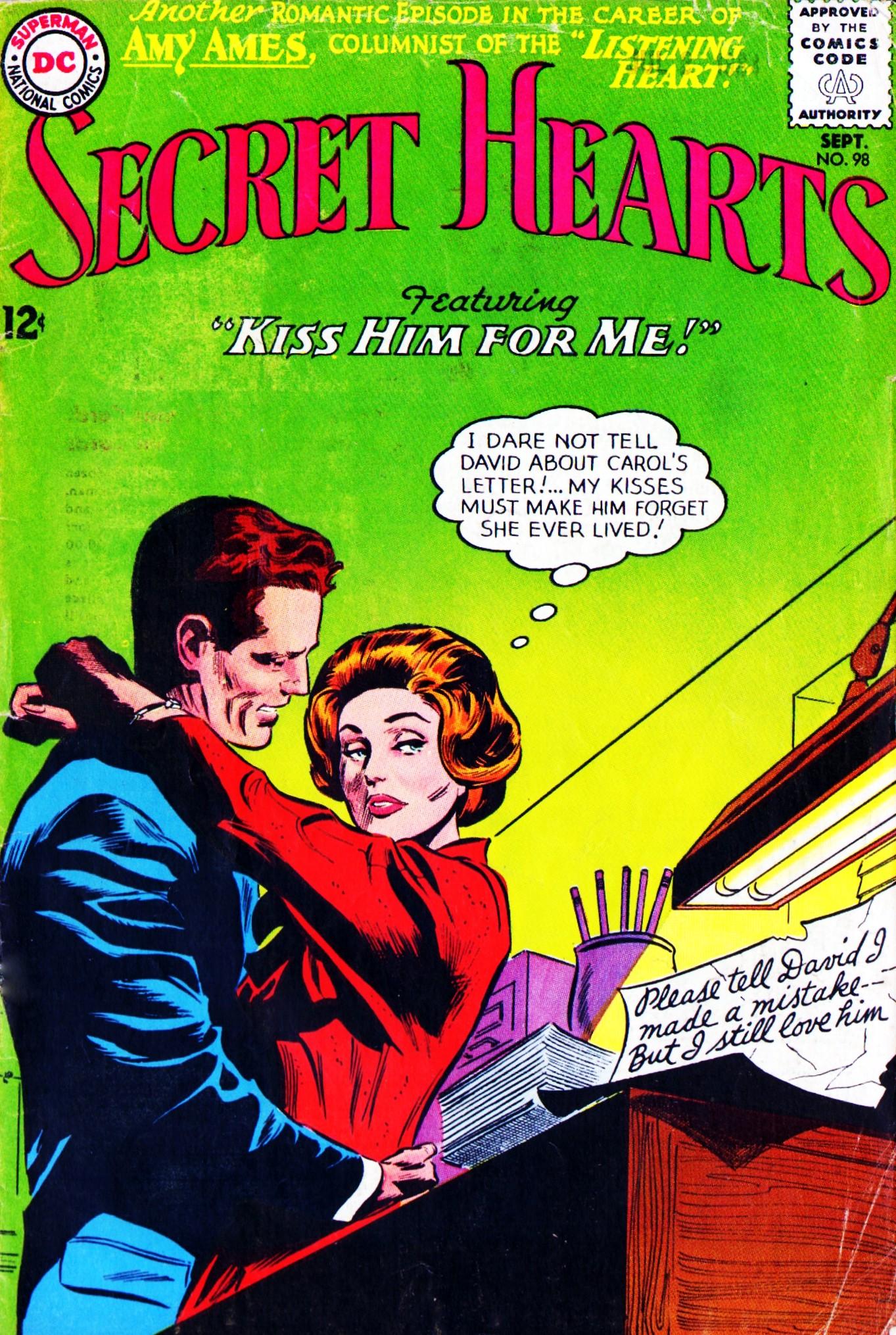 Read online Secret Hearts comic -  Issue #98 - 1