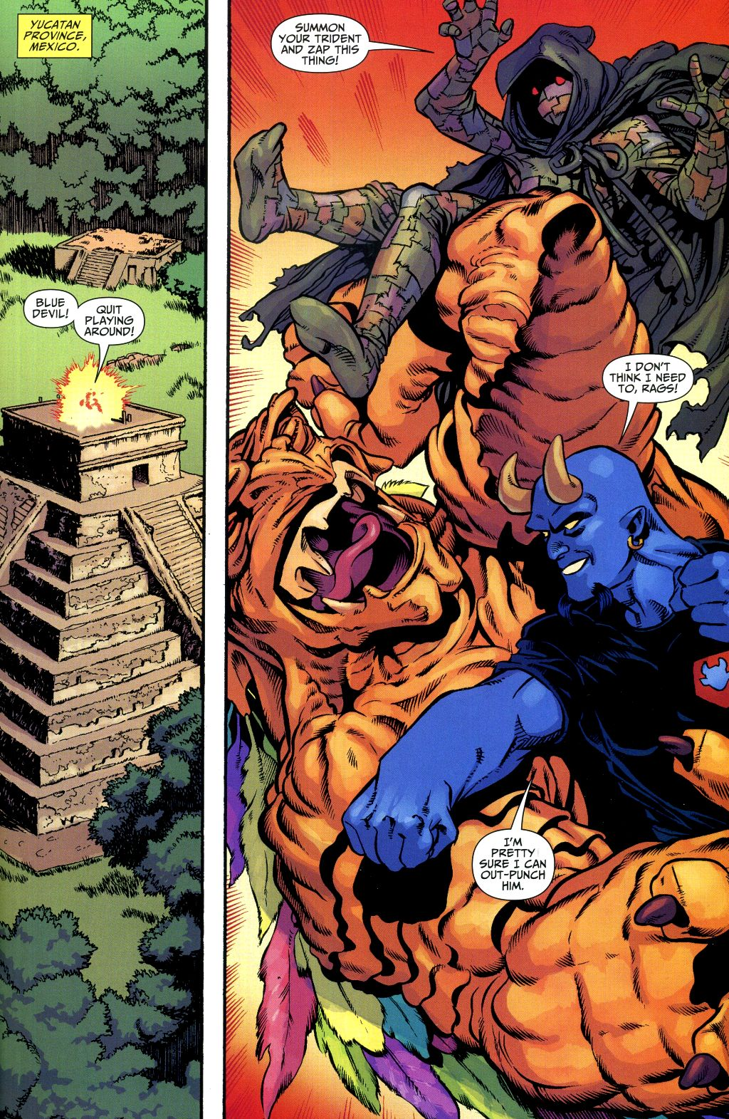 Read online Shadowpact comic -  Issue #1 - 12