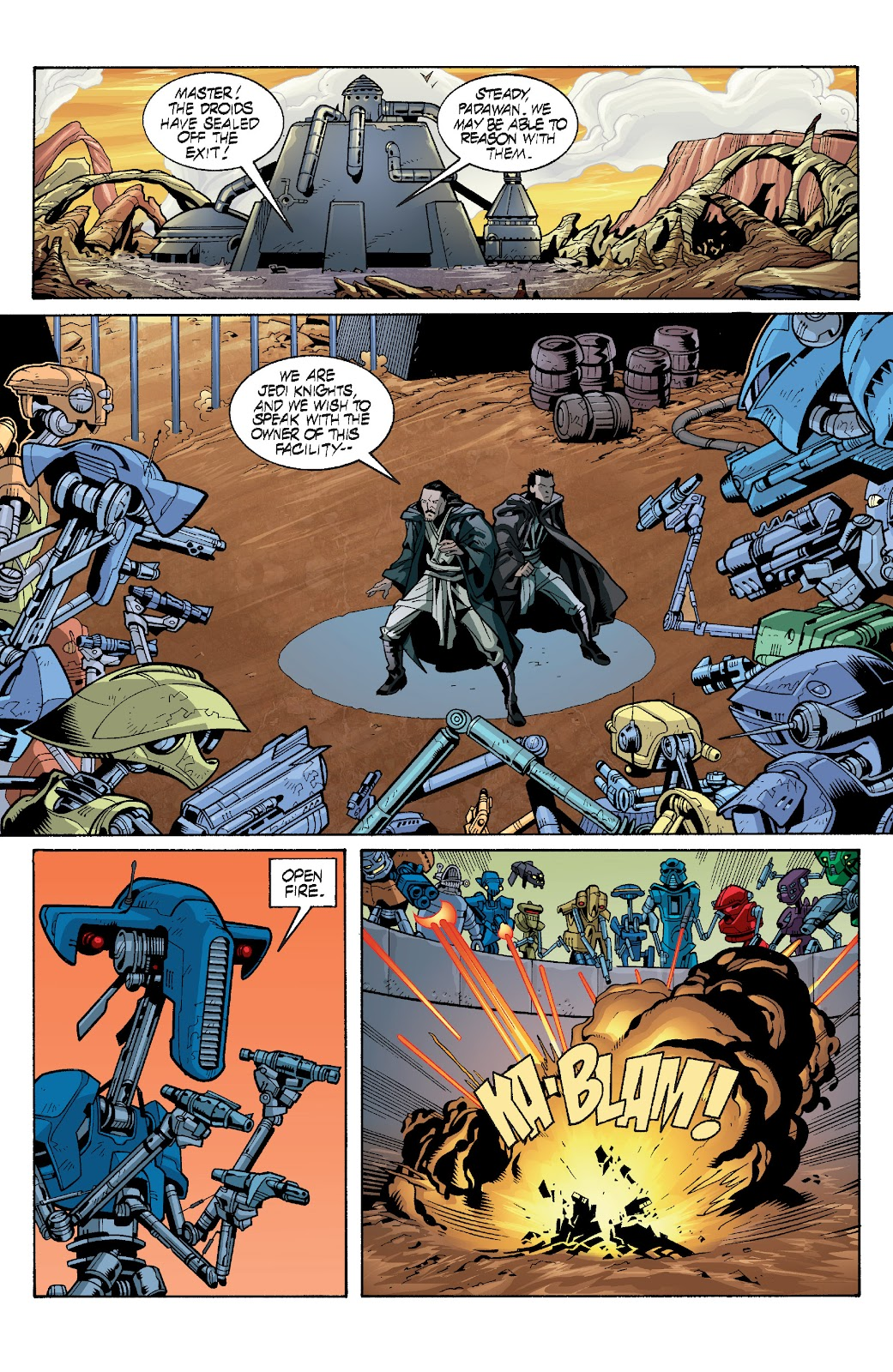 Read online Star Wars Legends: Rise of the Sith - Epic Collection comic -  Issue # TPB 1 (Part 3) - 98