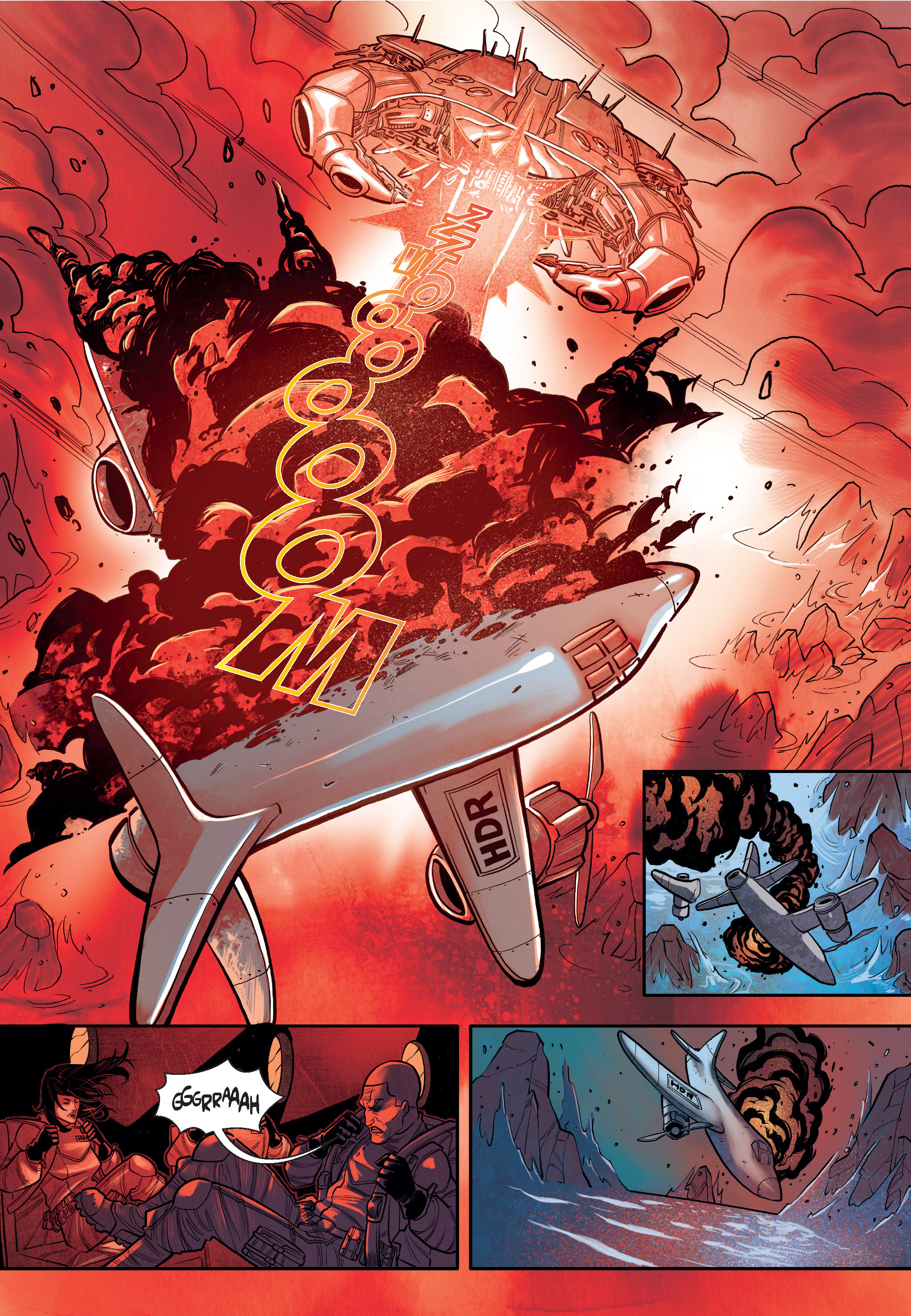Read online The Shadow of a Terrible Thing comic -  Issue # TPB - 45