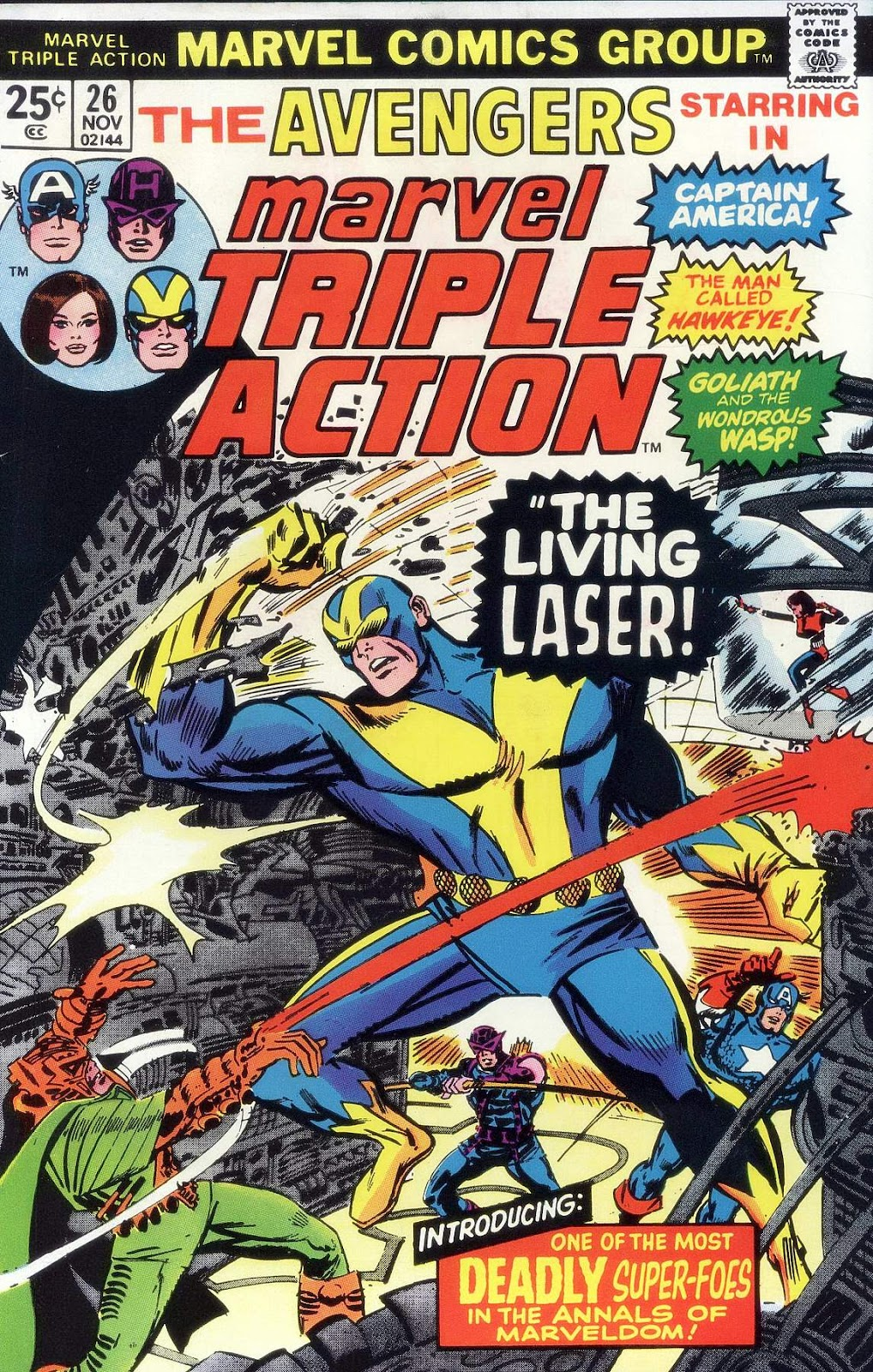 Marvel Triple Action (1972) issue 26 - Page 1