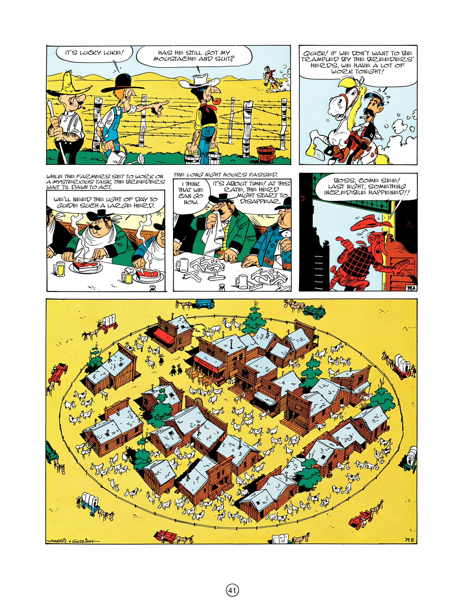 Read online A Lucky Luke Adventure comic -  Issue #7 - 41